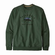 Men's Arched Fitz Roy Bear Uprisal Crew Sweatshirt