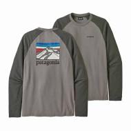 Men's Line Logo Ridge Lightweight Crew Sweatshirt