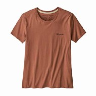 Women's Free Hand Fitz Roy Organic Cotton Crew T-Shirt