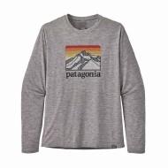 Men's Long-Sleeved Capilene Cool Daily Graphic Shirt