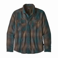 Men's Long-Sleeved Recycled Wool Shirt