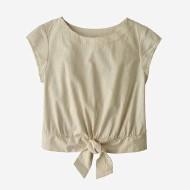 Women's Organic Cotton Seersucker Top