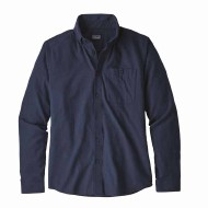 Men's Long-Sleeved Vjosa River Pima Organic Cotton Shirt