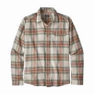 Men's Long-Sleeved Lightweight Fjord Flannel Shirt