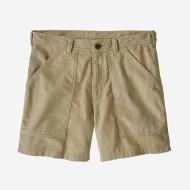 "Men's Organic Cotton Corduroy Utility Shorts - 6"""