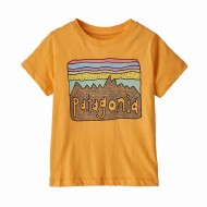 Baby Fitz Roy Skies Organic Cotton T-Shirt