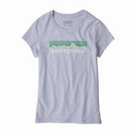 Girls' Pastel P-6 Logo Organic Cotton T-Shirt