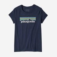 Girls' Pastel P-6 Logo Organic Cotton T-Shirt