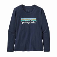 Girls' Long-Sleeved Graphic Organic Cotton T-Shirt