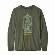Boys' Long-Sleeved Graphic Organic Cotton T-Shirt