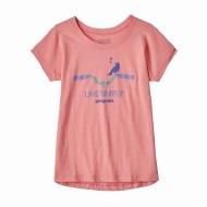 Girls' Graphic Organic Cotton T-Shirt