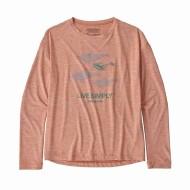 Girls'  Long-Sleeved Capilene Cool Daily T-Shirt