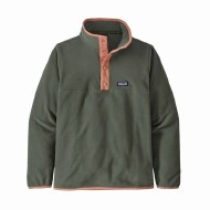 Boys' Micro D Snap-T Fleece Pullover