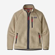 Boys' Retro Pile Fleece Jacket