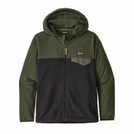 Boys' Micro D Snap-T Fleece Jacket