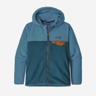 Boys' Micro D Snap-T Fleece Jacket