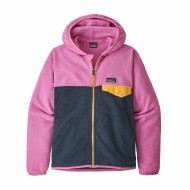 Girls' Micro D Snap-T Fleece Jacket