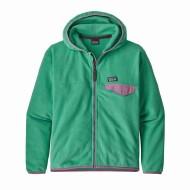 Girls' Micro D Snap-T Fleece Jacket
