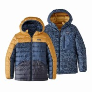 Boys' Reversible Down Sweater Hoody