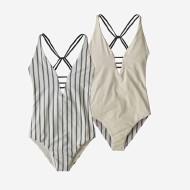 Women's Reversible Extended Break One-Piece Swimsuit
