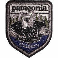 Iron on Patch- Patagonia Calgary
