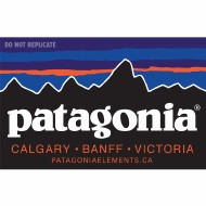 Free Patagonia Calgary | Banff | Victoria Sticker