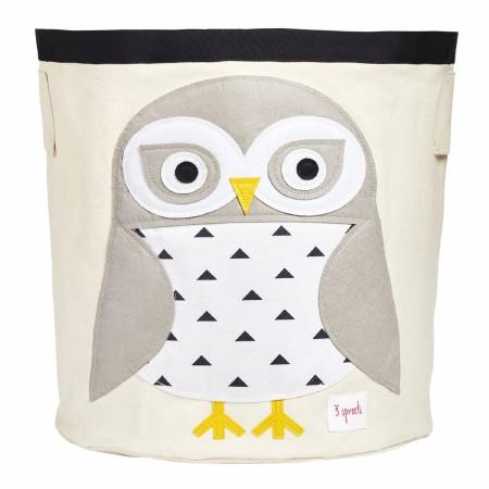 Storage Bin Snowy Owl