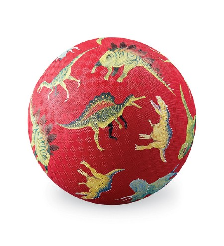 """7"""" Play Ball Dino Red"""