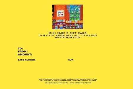 E Gift Card $50