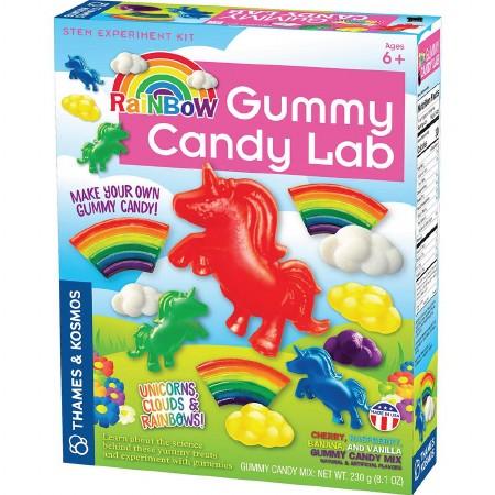Gummy Rainbow Candy Lab