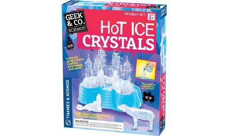 Hot Ice Crystals