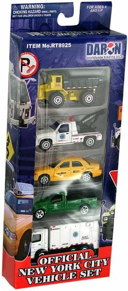NYC 5pc Vehicle Set