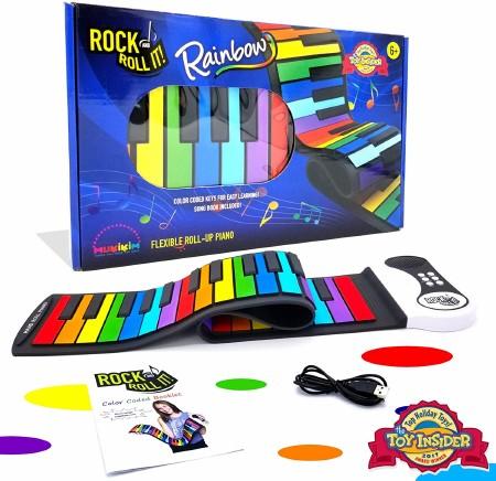 Rock & Roll It Piano Rainbow