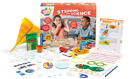 Stepping into Science