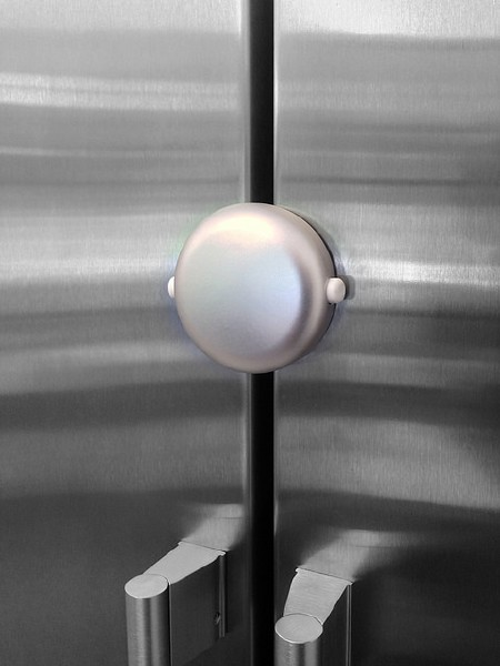 Adhesive Magnet Lock - White