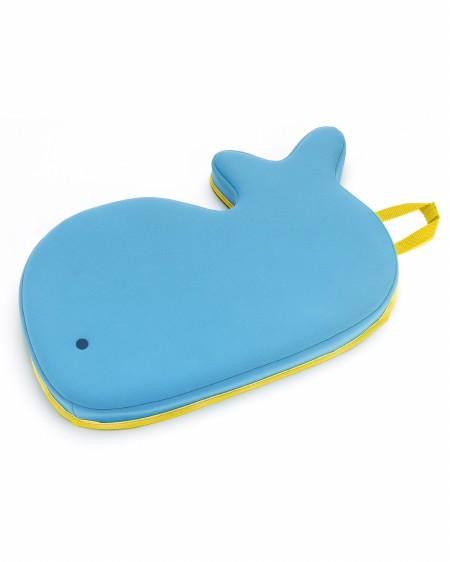 Moby Bath Kneeler Blue