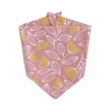 Bib Holland Foral Pink/Yellow