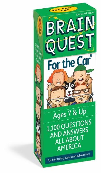 Brain Quest Q&A Car 7Y+