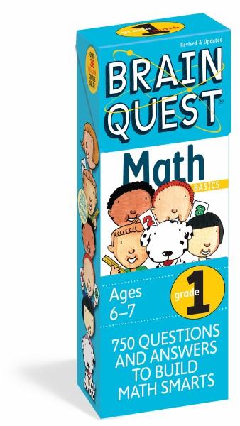 Brain Quest Q&A Grade 1 Math