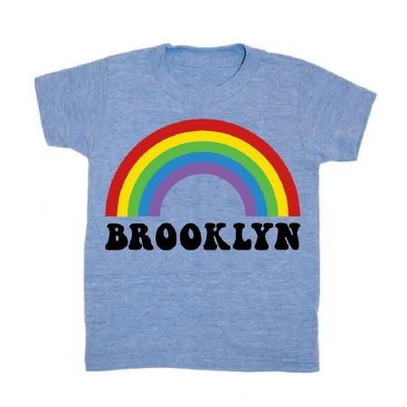 Brooklyn Rainbow Tee 2T