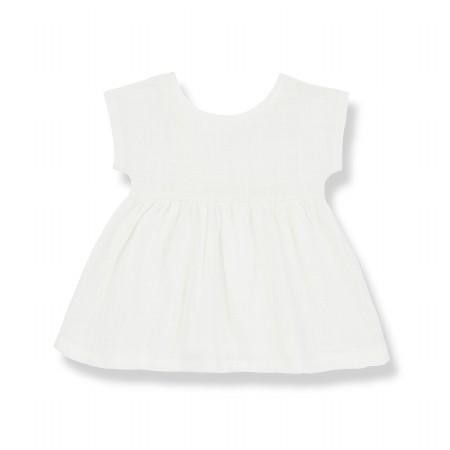 Bruna Dress Off-White 3-6m