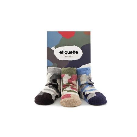 Camouflage Baby Socks