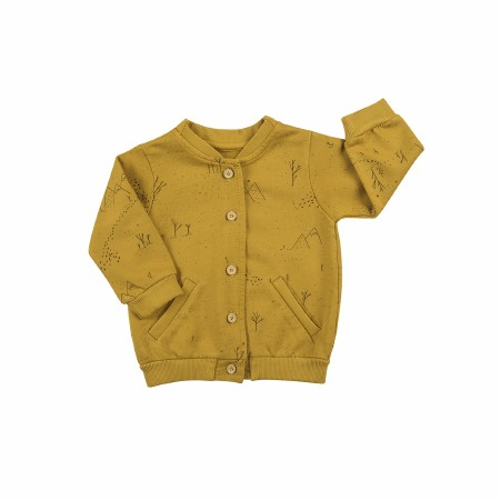 Cardigan Gold Tracks 6-9m