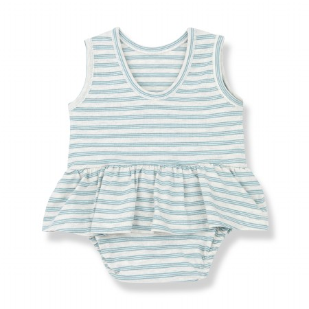 Ceret Onesie Dress Mint 0-3m