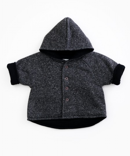 Charcoal Jacket 3-6m