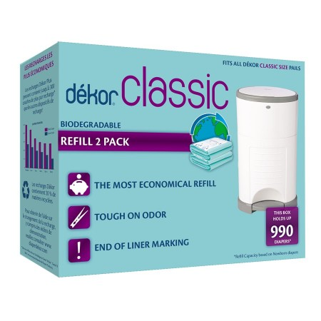 Dekor Classic 2-pk Refill Bio