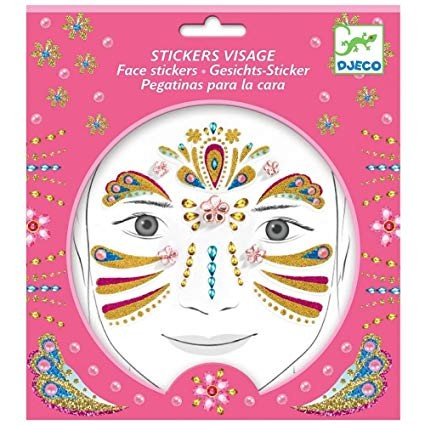 Face Stickers- Gold Princess