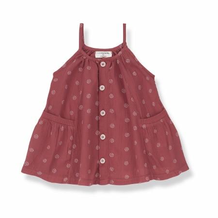 Floriana Dress Red 6-9m