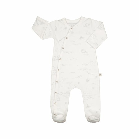 Footie The Story White 3-6m