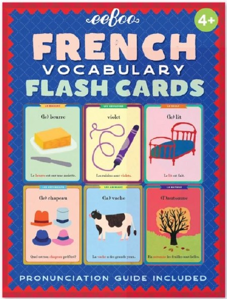 French Flash Cards 4+